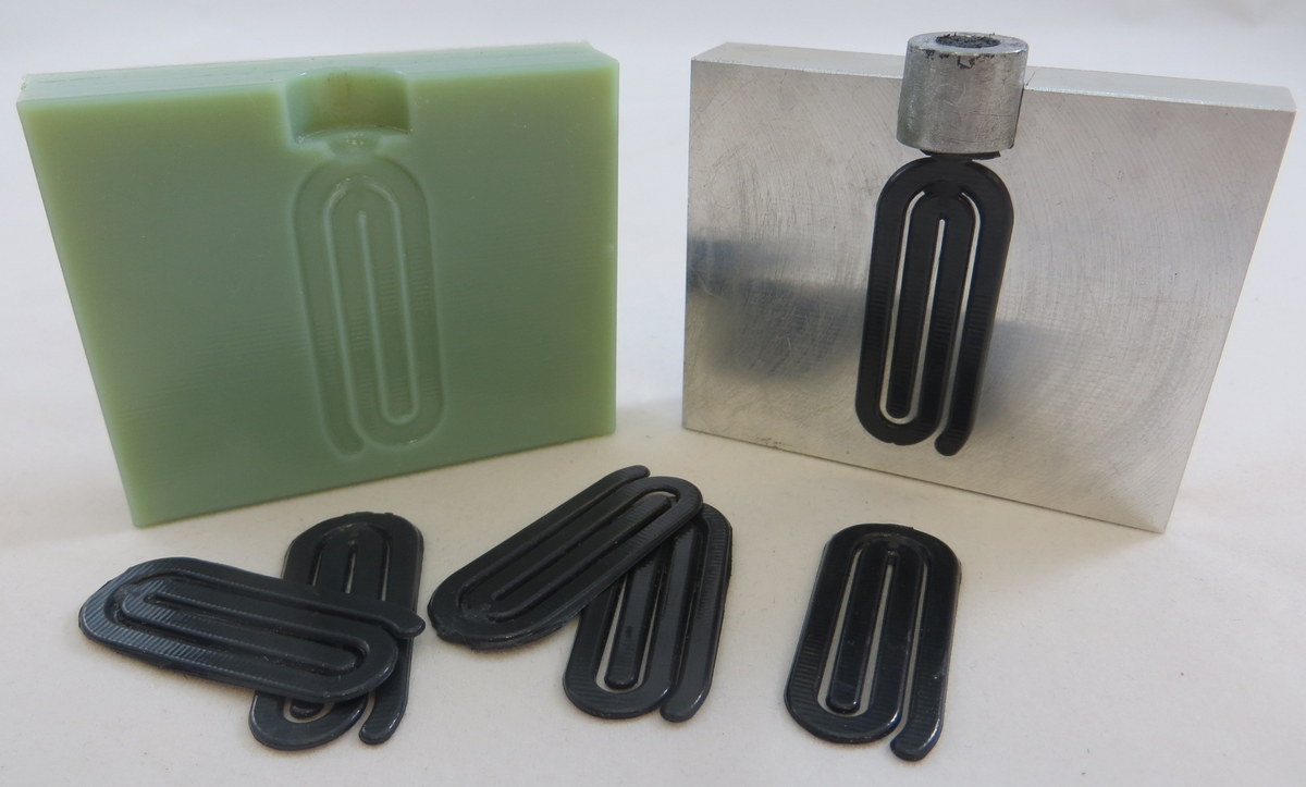 3D printed mold for plastic injection molding
