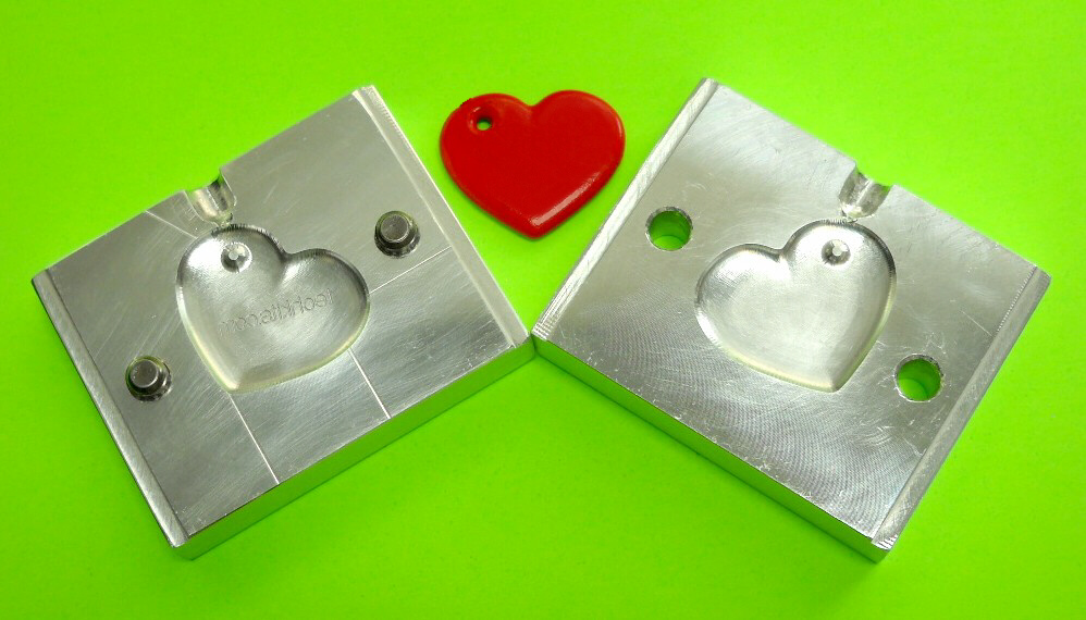 Keychain Heart Mold
