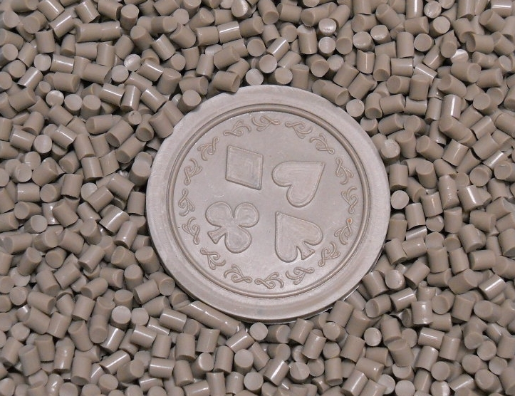 Gray Co-Polyester (COPE) Pellets